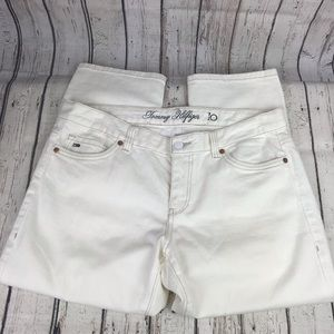 Tommy Hilfiger NWOT White Jean Capri Size 10